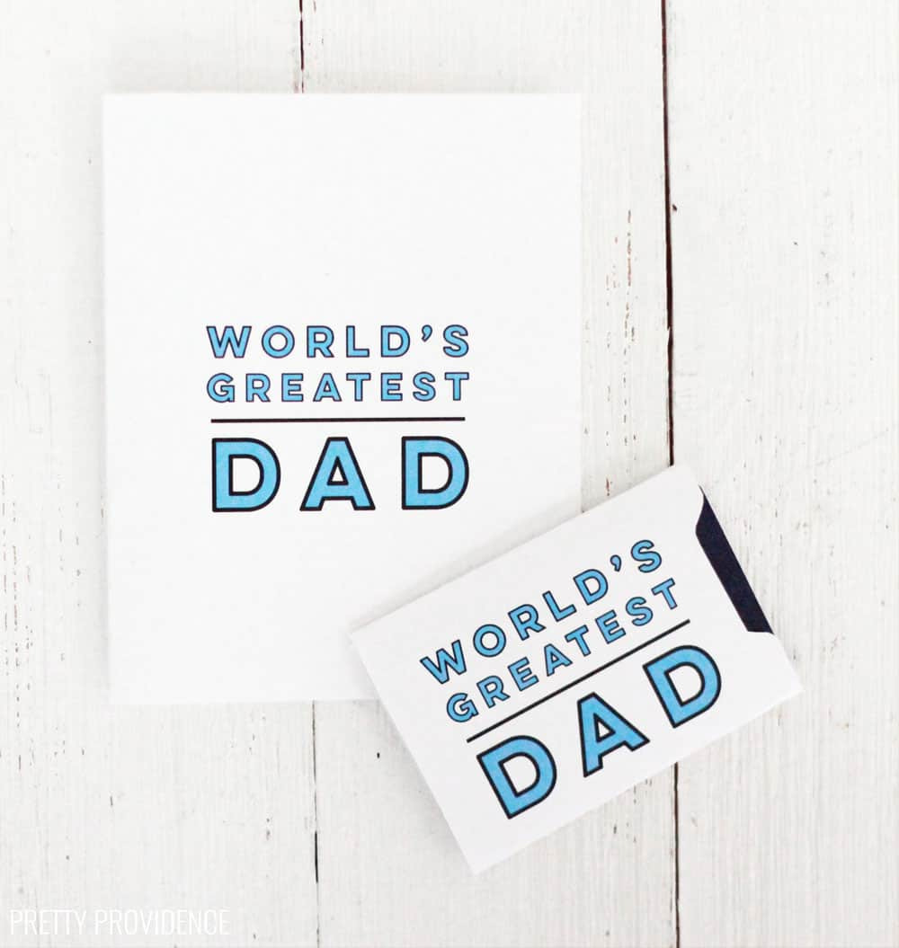 photo about Father's Day Card Printable identified as Cost-free Printable Fathers Working day Card - Extremely Providence
