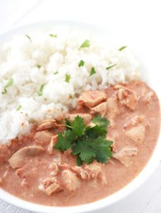 This slow cooker chicken tikka masala recipe is amazing!