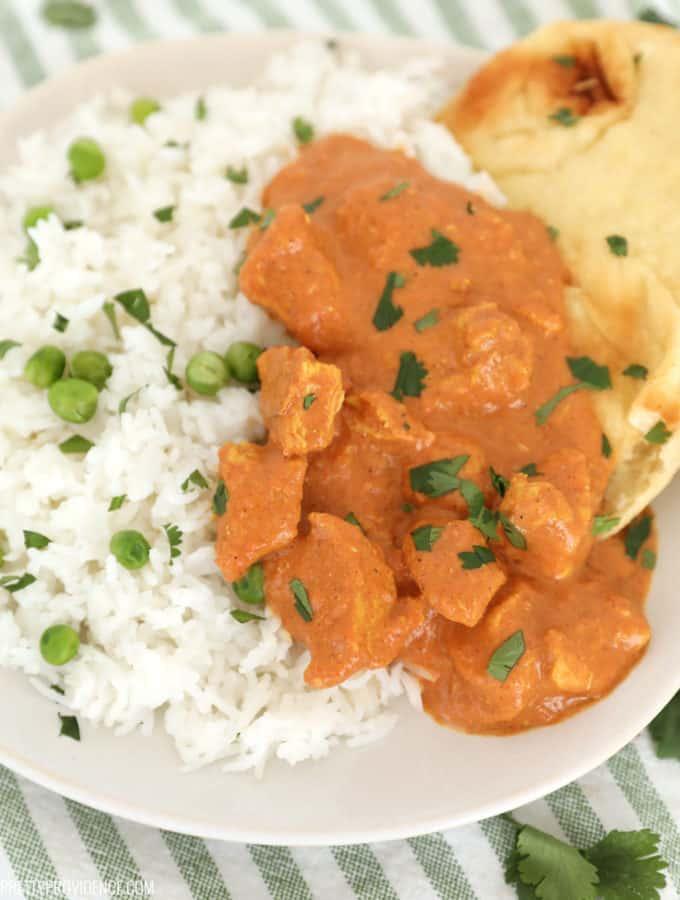 This slow cooker chicken tikka masala recipe is amazing!