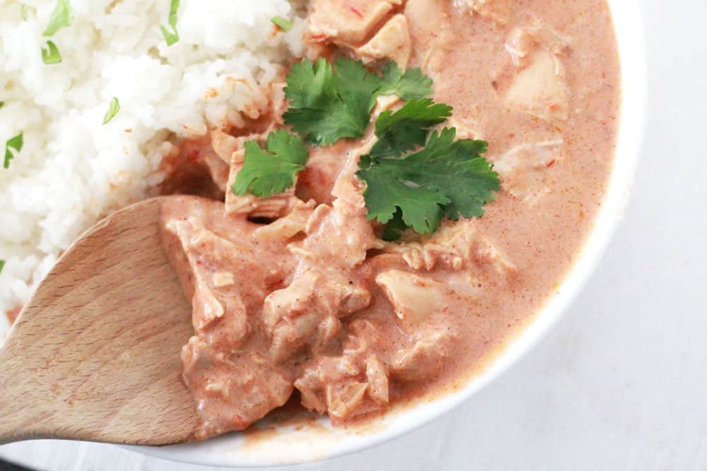 This slow cooker chicken tikka masala recipe is easy, you will want to make it again and again!