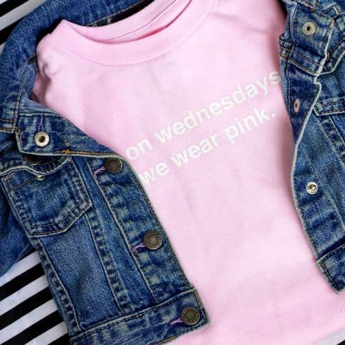 'On Wednesdays We Wear Pink' T-Shirt