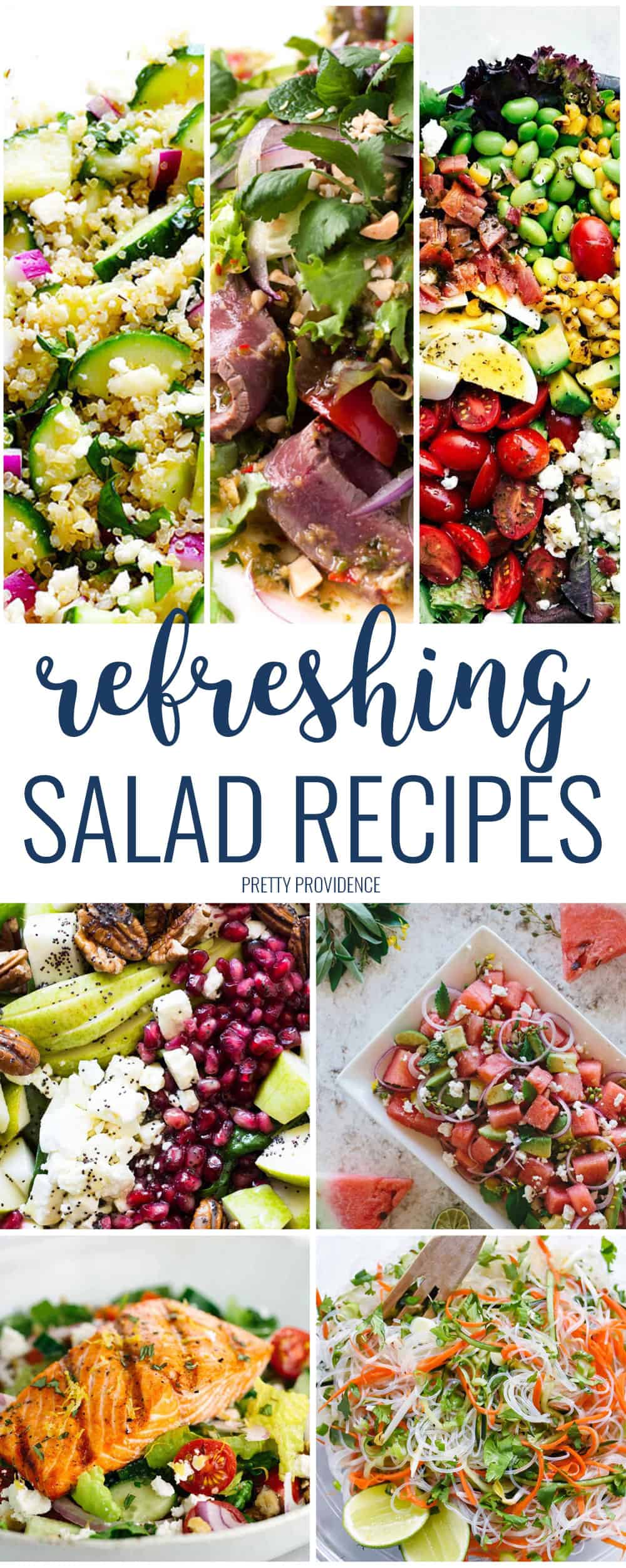 Okay there are so many good salad recipes here! I love trying new and unique salad recipes for dinner!