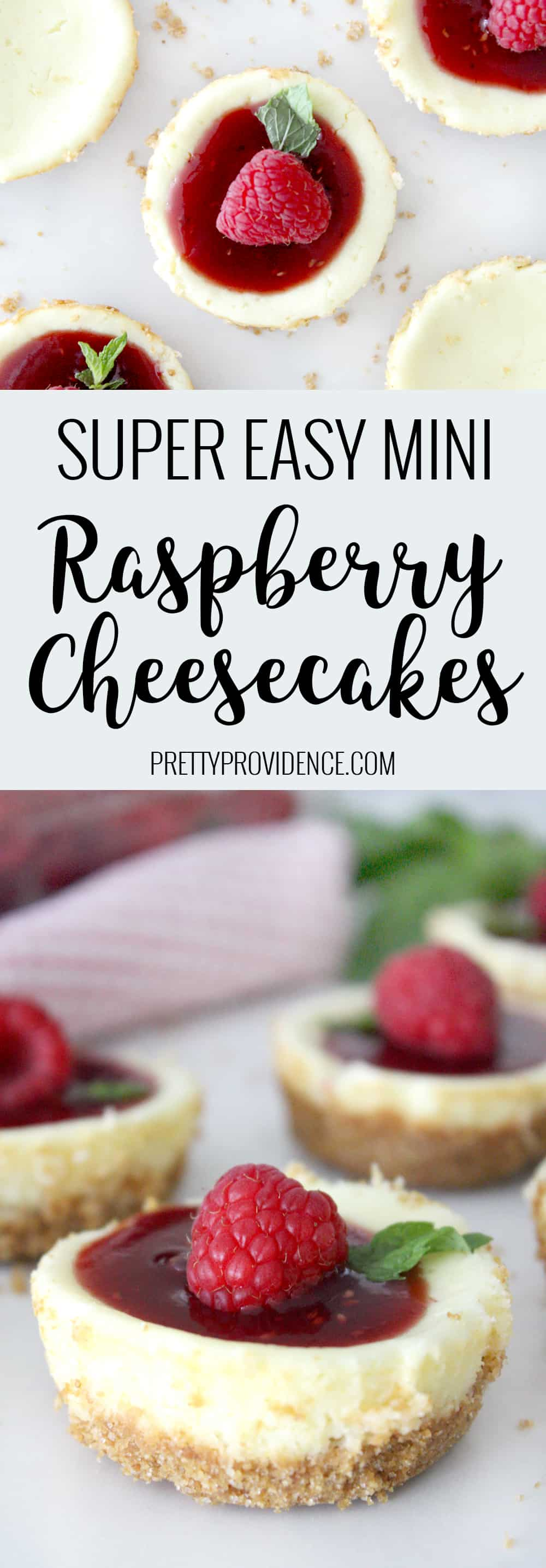 I always loved cheesecake but thought it would be hard to make- this recipe totally proves that theory wrong! So quick and easy and SO GOOD!