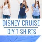 DIY Disney Shirts for a Disney Cruise!