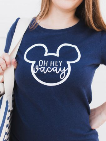 Oh Hey Vacay Disney Shirt for Disneyland, Disney World or Disney Cruise