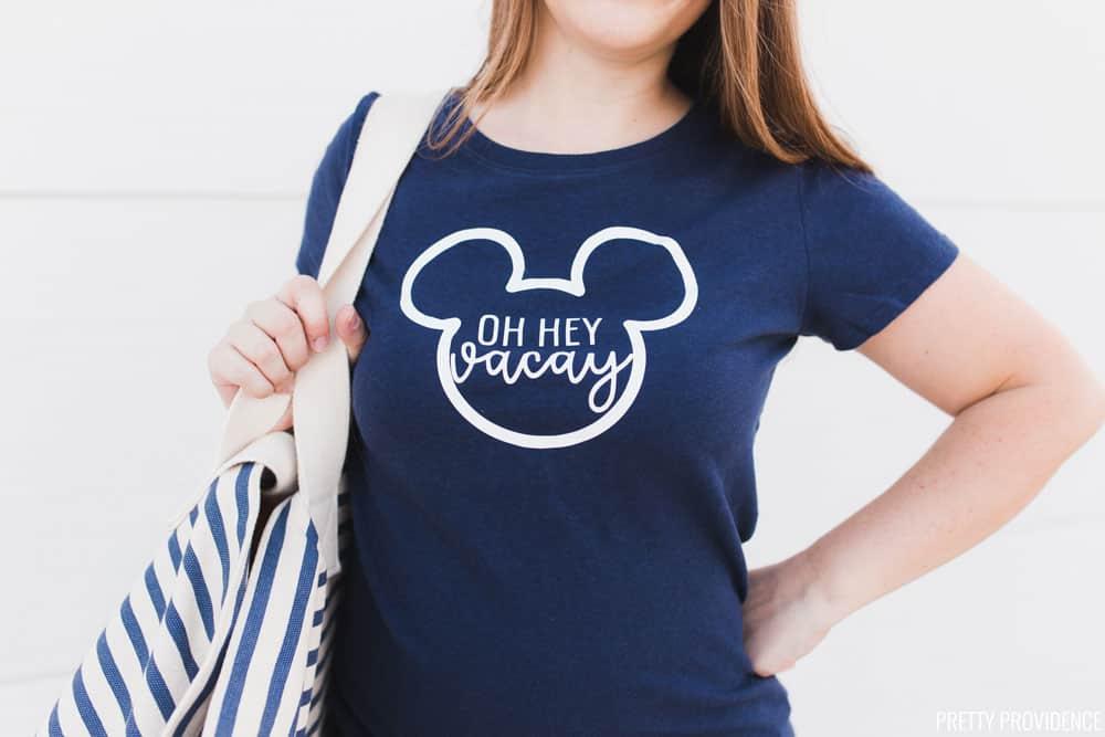 0e227c402 Oh Hey Vacay Disney Shirt for Disneyland, Disney World or Disney Cruise