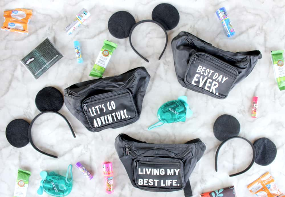 How adorable are these easy custom fanny packs made with the Cricut Maker?! Follow this step by step tutorial to make your own today!
