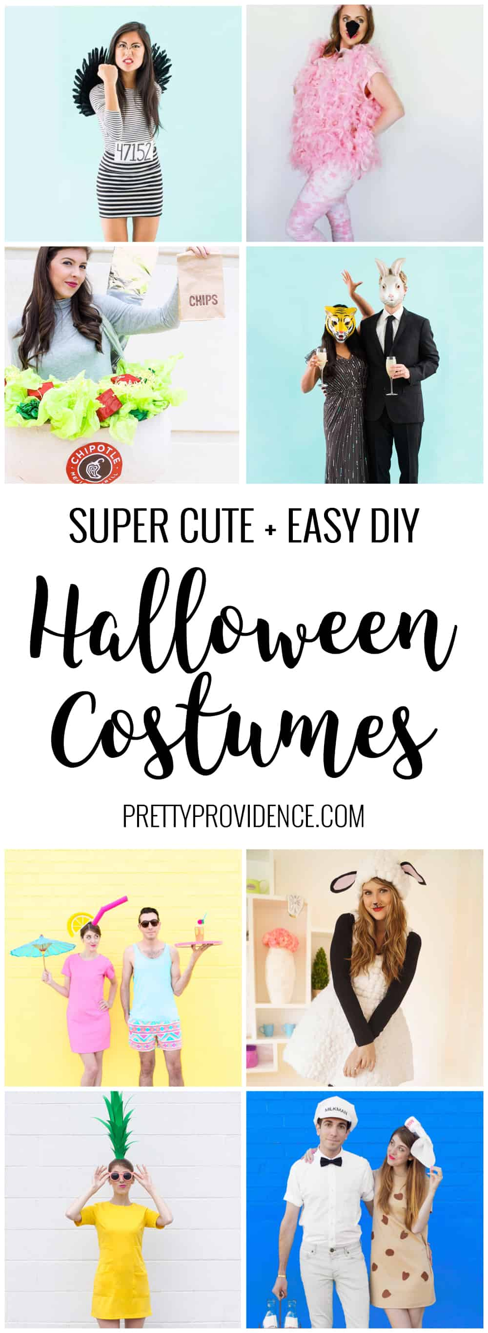 I am loving all these fun and easy DIY Halloween costume ideas! Adorable and affordable! They just can't be beat.
