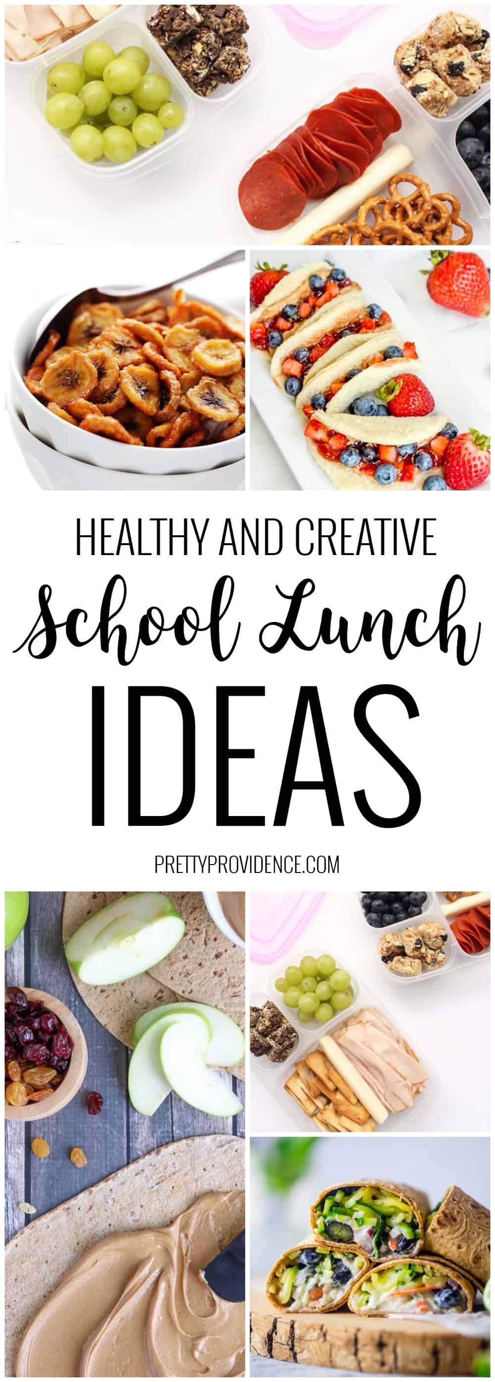 Bored of the same old lunches? These healthy and creative back to school lunch ideas are sure to get you out of your lunch rut!