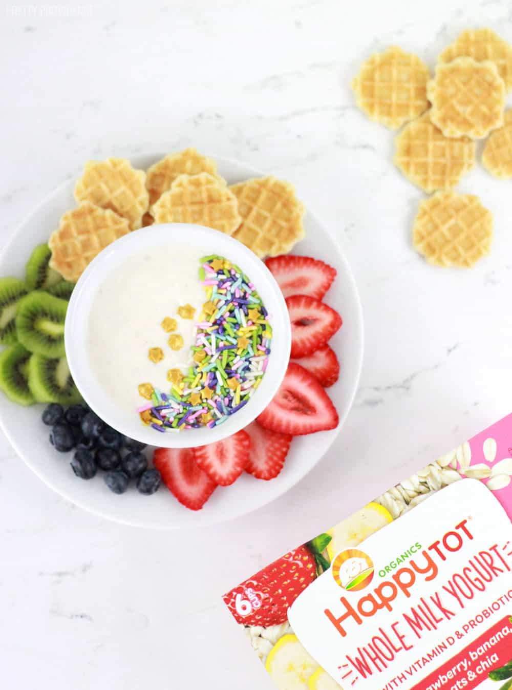 Picky eater? Try sprinkles in yogurt with fruit on the side!