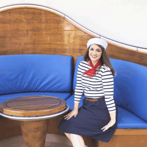 Easy DIY Sailor Costume