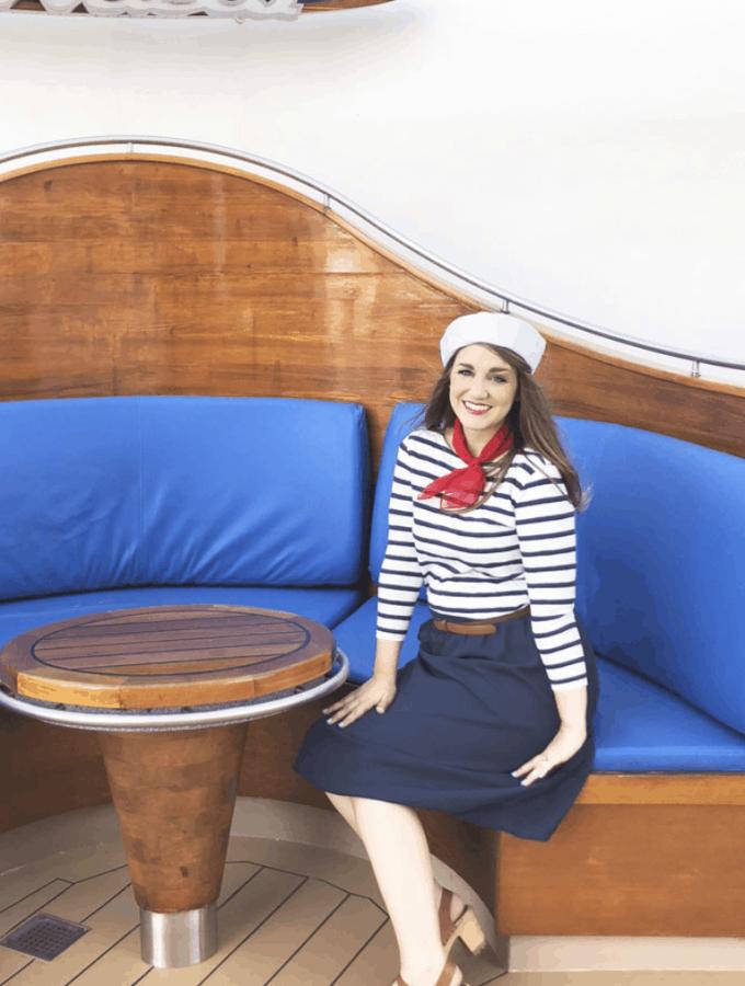 Easy Sailor Costume DIY