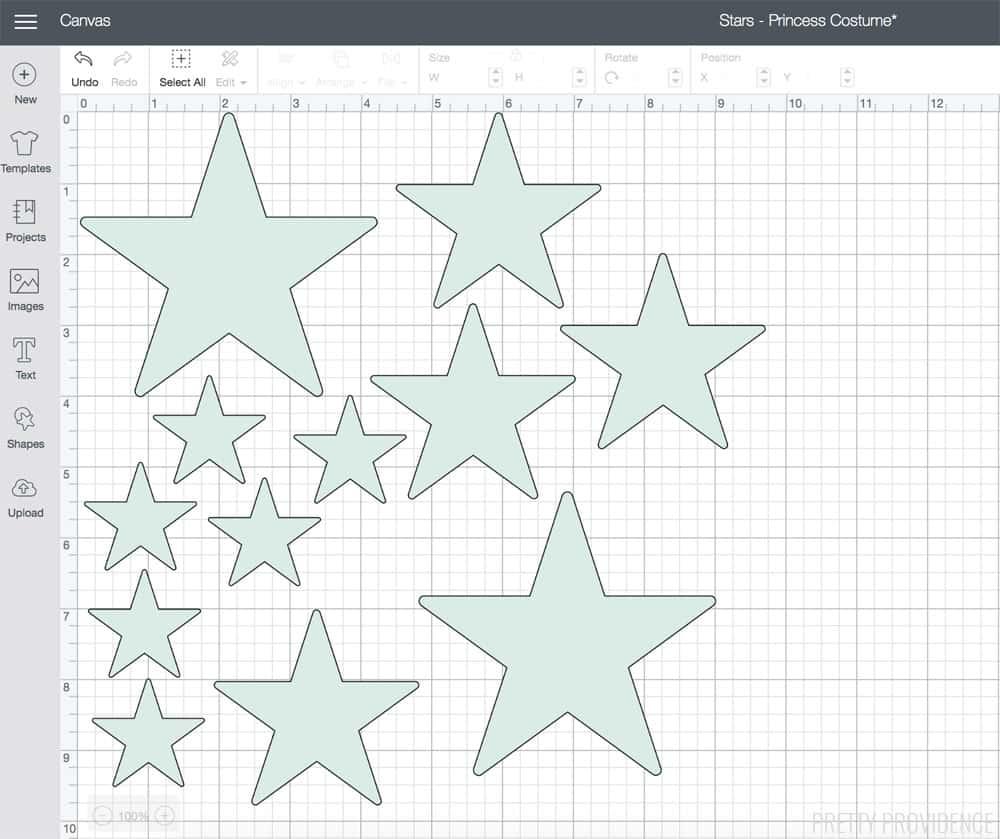 Fabric and Felt Stars