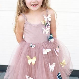 No Sew Princess Costume or Dress Up! Butterfly Princess
