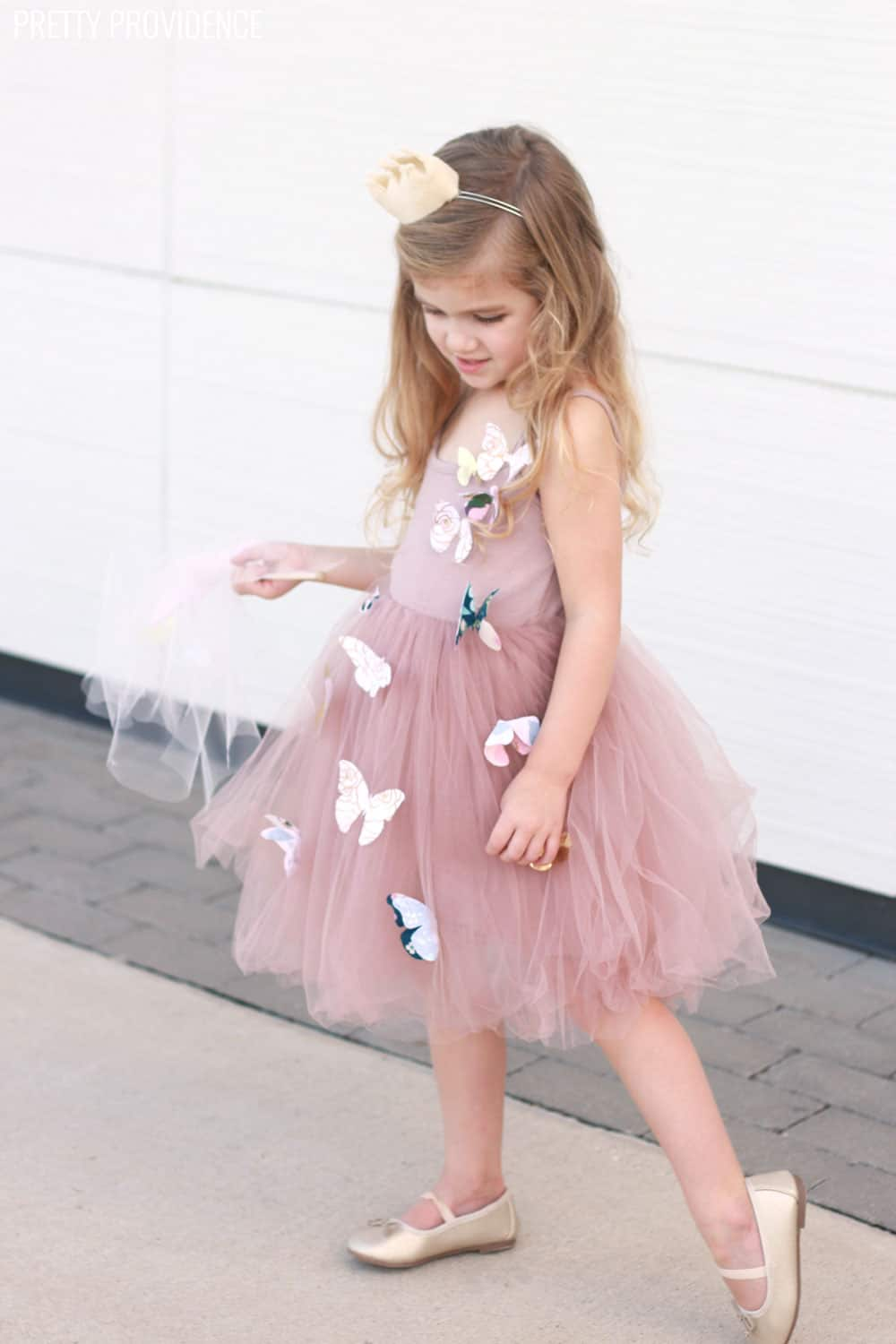 Easy Butterfly Princess Costume