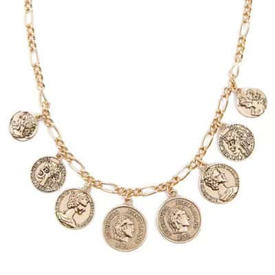 Pirate Costume Coin Necklace
