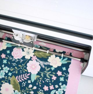 Cutting fabric with Cricut rotary blade!