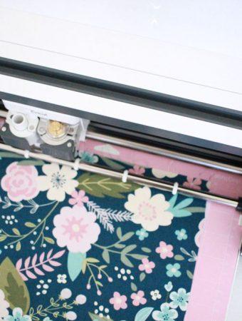 Cutting fabric with Cricut rotary blade!