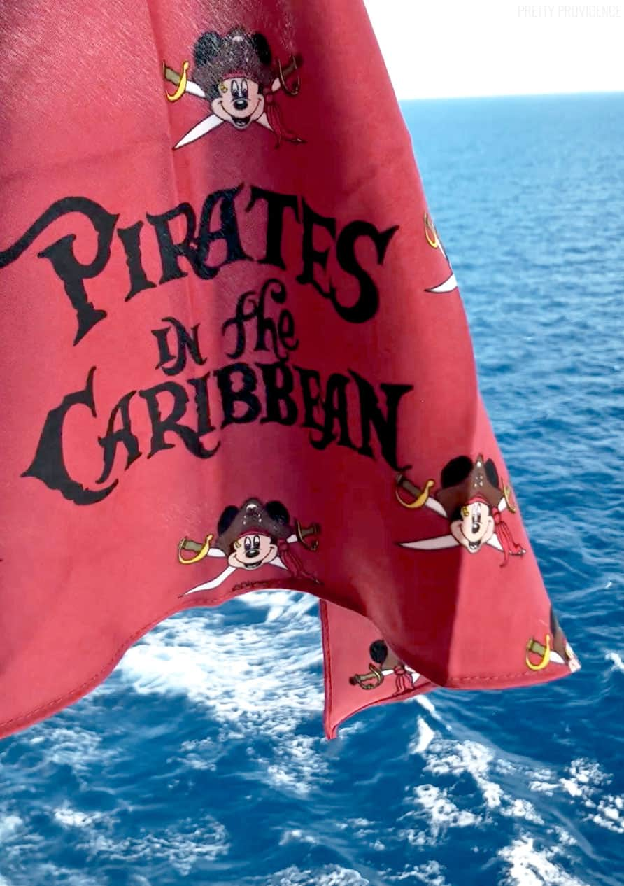 Disney Cruise Pirate Night Bandana - DIY Pirate Costume Ideas for Pirate Night!