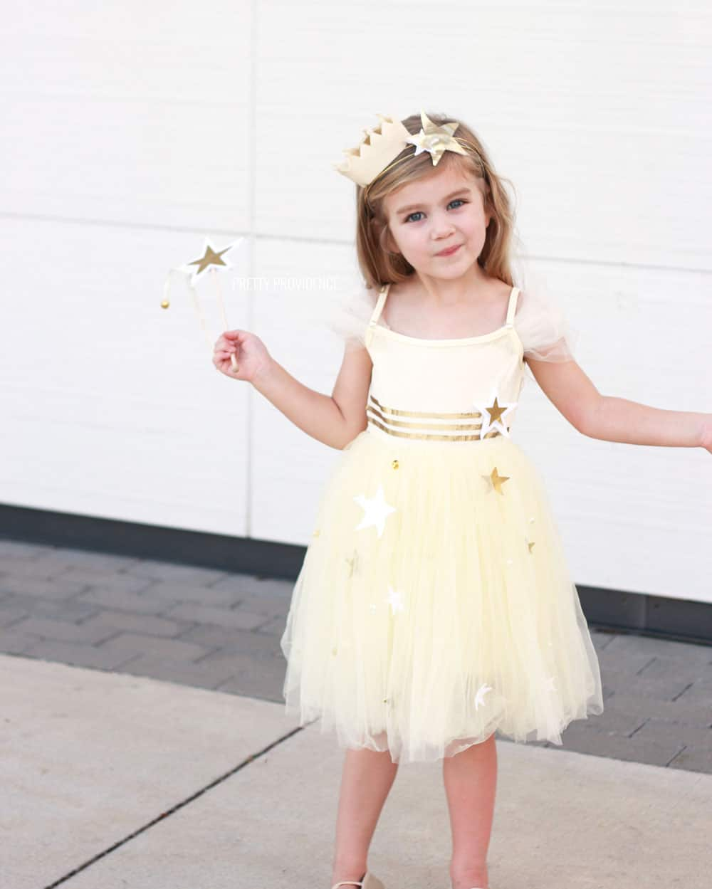 Easy Princess Costume with Stars