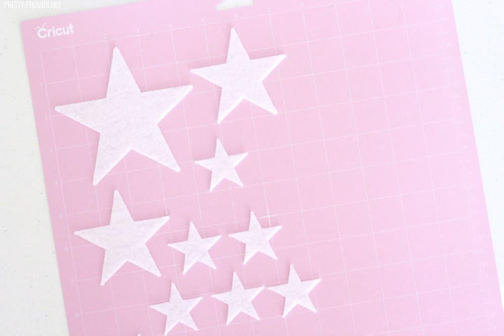 How to Cut Felt Stars with Cricut Maker