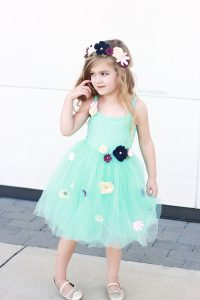 No Sew Princess Costume or Dress Up! Flower Princess