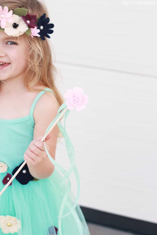 DIY Flower Princess Costume