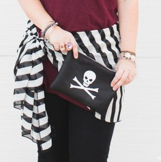 Easy DIY Pirate Costume for Halloween or Disney Cruise Pirate Night!