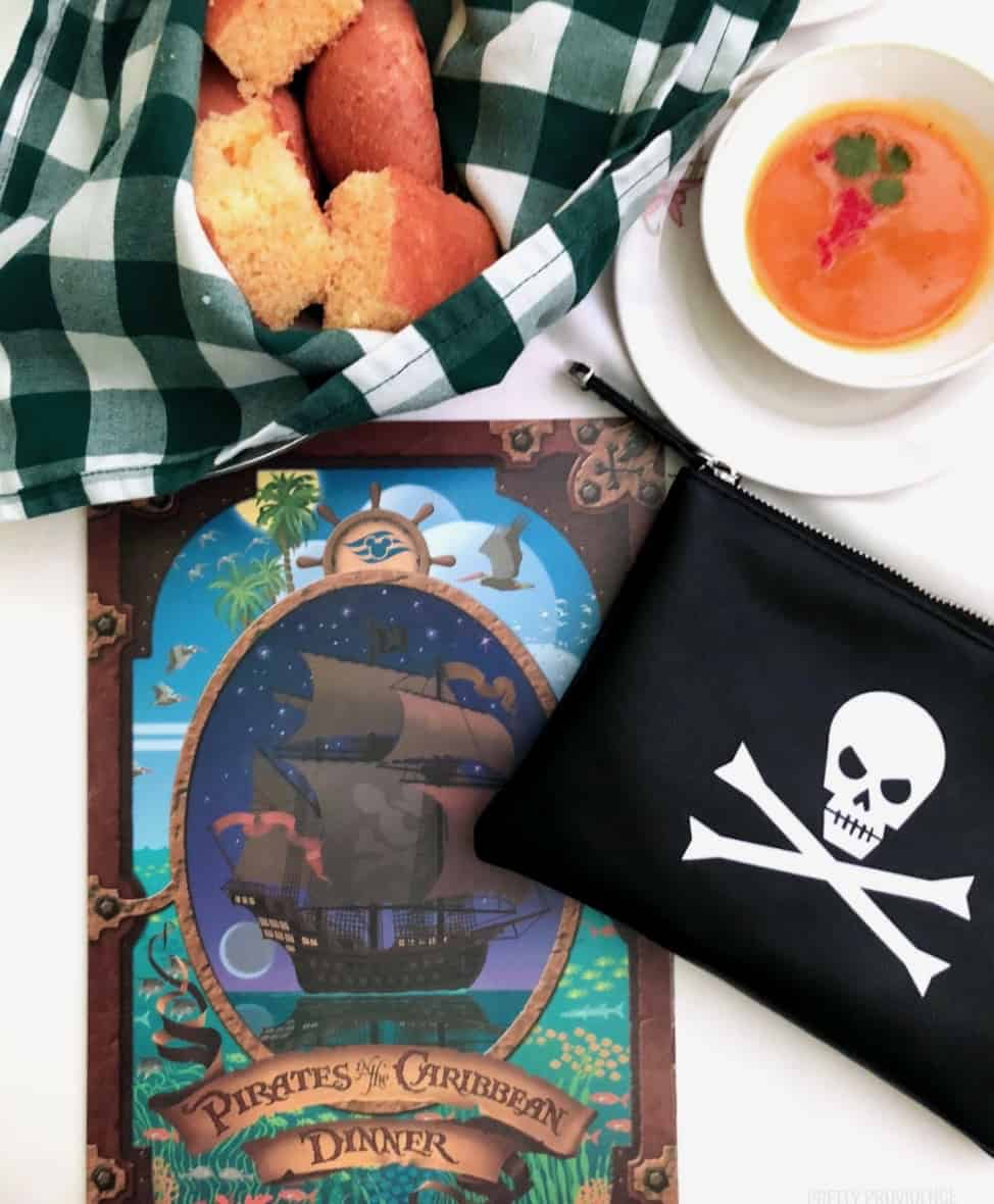 Pirate Night Disney Cruise Dinner
