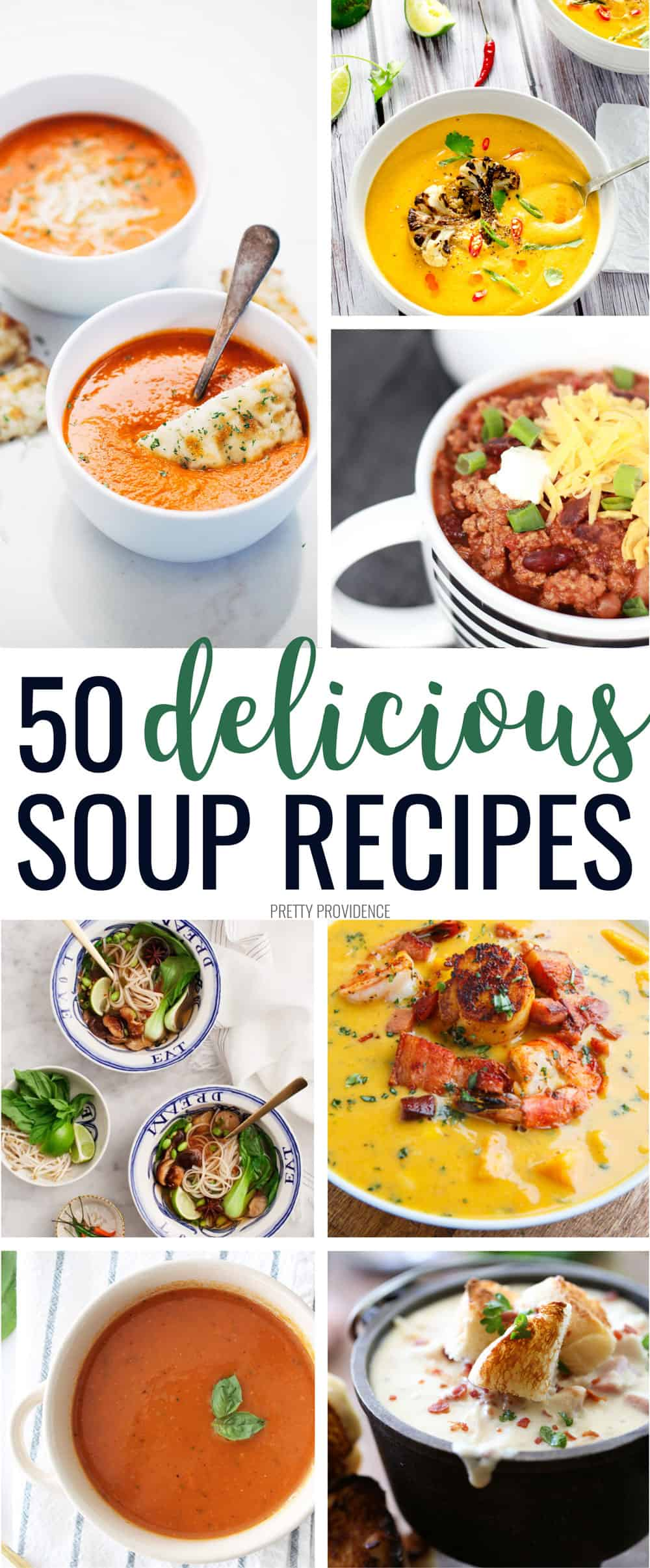 Tons of the best soup recipes! They are all easy recipes, some with chicken, some with ground beef, something for everyone! #soup #souprecipes #dinner #dinnerideas #soupseason #comfortfood #easyrecipe #easyfoodrecipe #easydinner