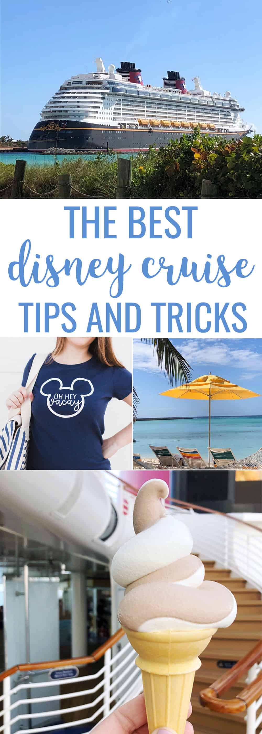 The Best Tips for Disney Cruise and info about the food, activities and Castaway Cay!