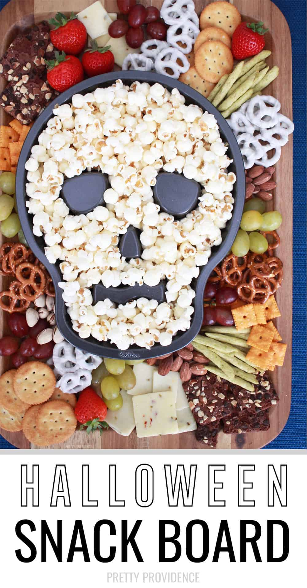 Halloween Snack Board - Perfect sweet and savory snack for a Halloween party!