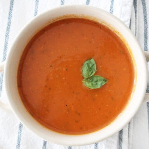 Hearty Tomato Soup and Easy Fruit Dip – Dairy Free Recipes