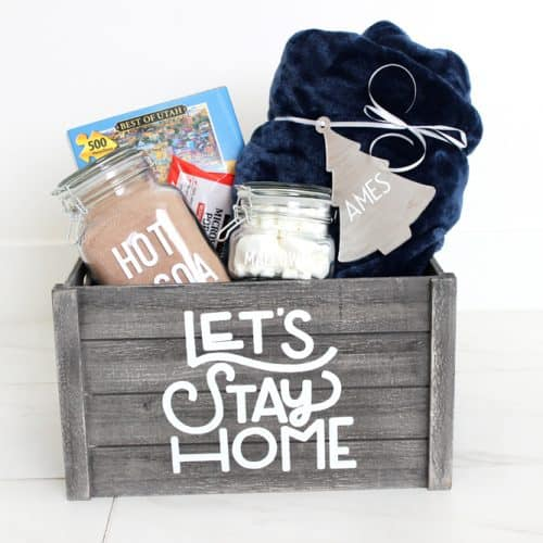 Cozy Night In Gift Basket and A Cricut Maker Review