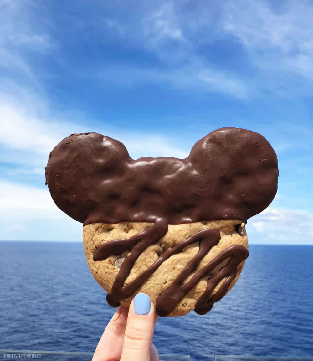 Vanellopes Disney Cruise cookie