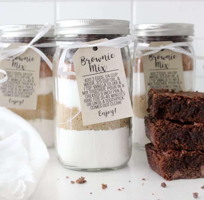 Best Brownie Mix Gift Idea