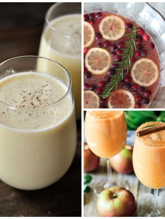 Christmas Mocktails and Non Alcoholic Party Drinks