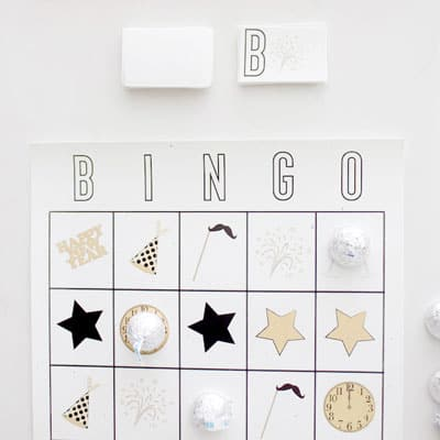 New Year's Eve Bingo - NYE Family Games