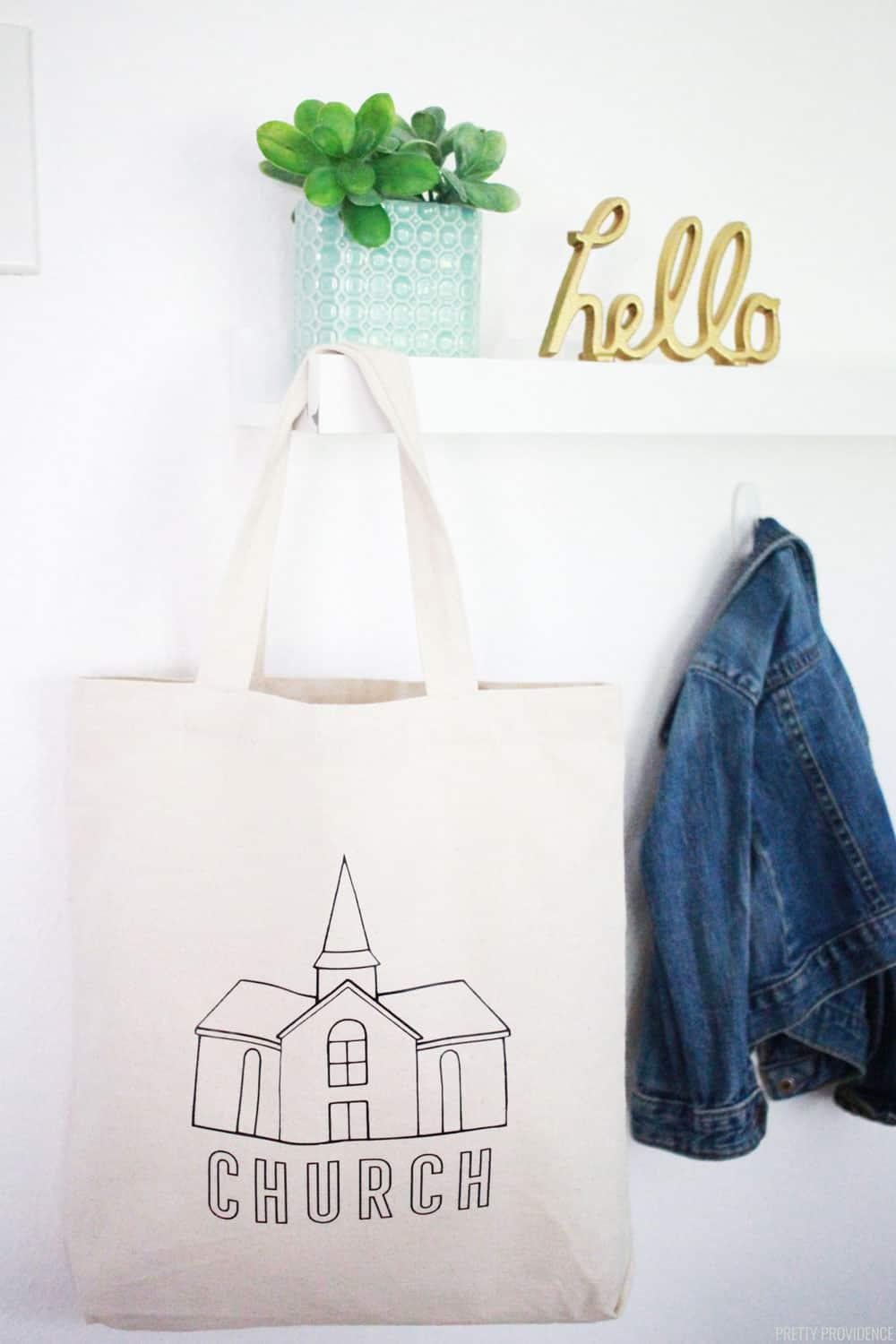 Tote Bag Customized for Church Bag