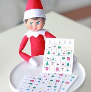 Elf on the Shelf Printable Bingo
