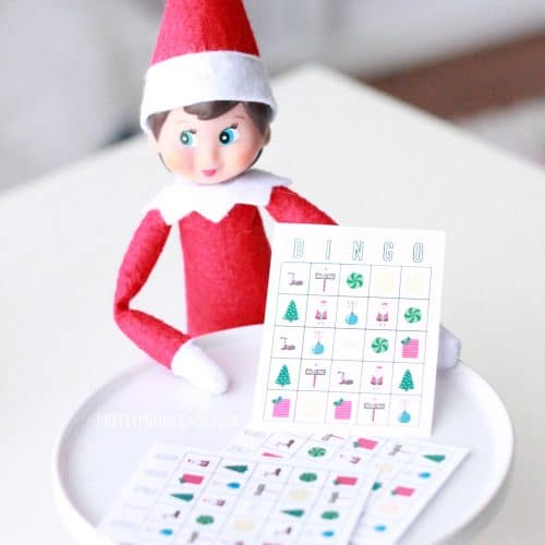 Elf on the Shelf Bingo Printable