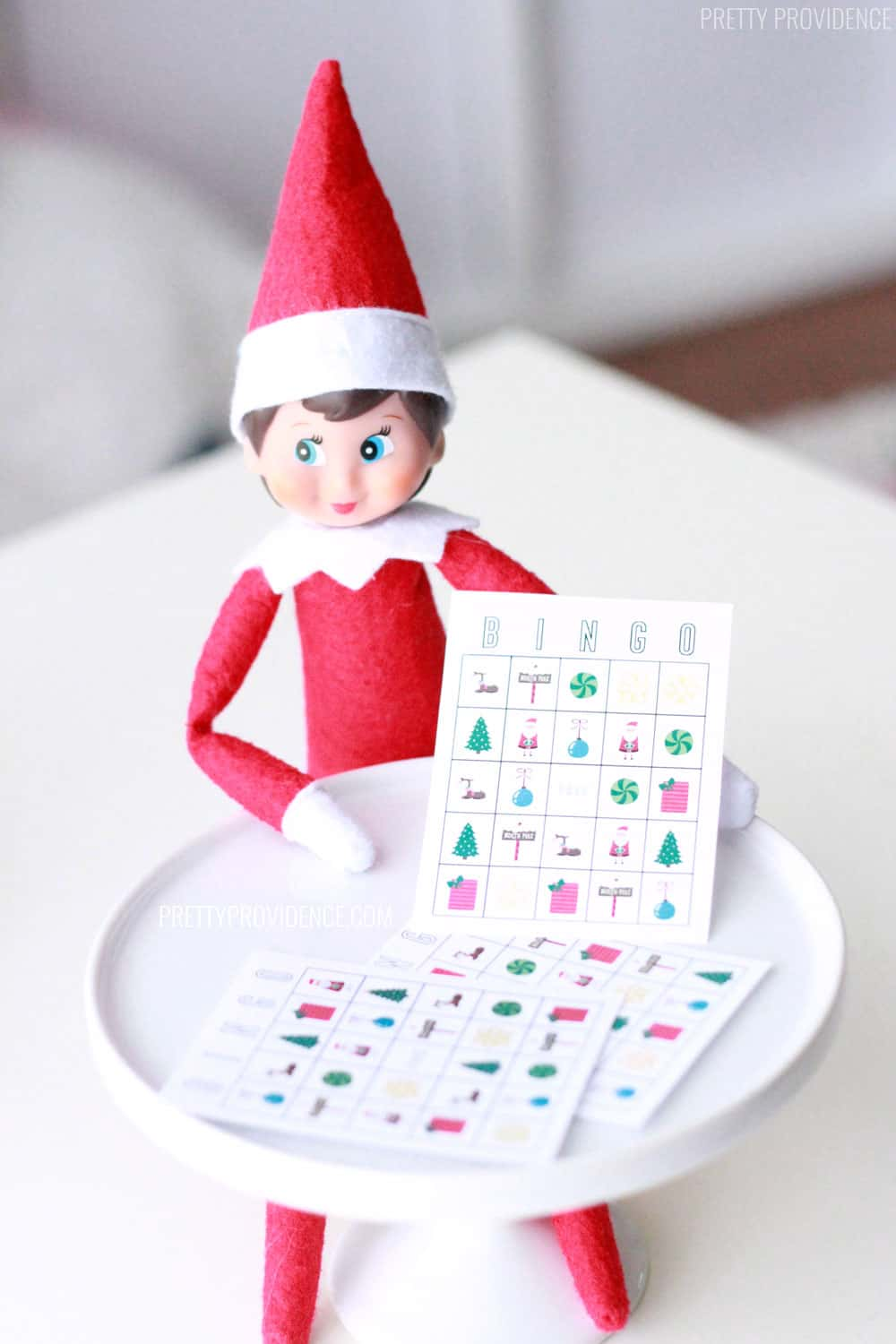 Elf on the Shelf Printable Bingo