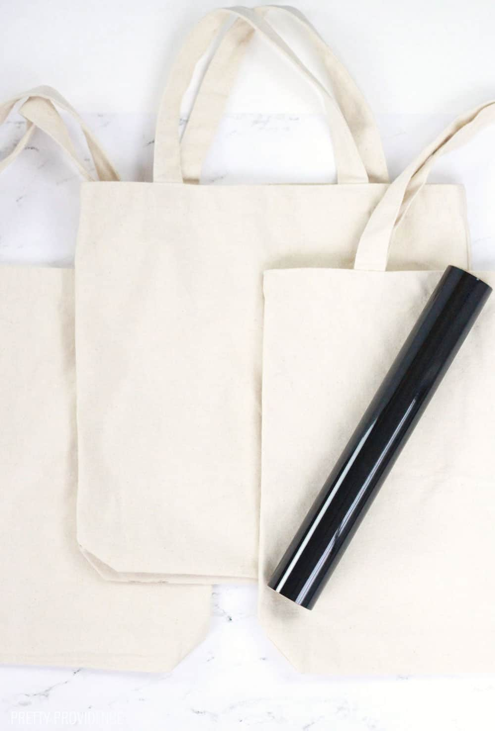 Canvas Tote Bags and Iron-on Vinyl