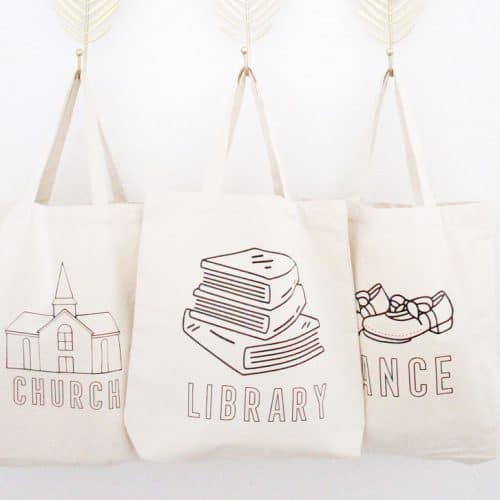 Customized Tote Bags to Organize All the Things
