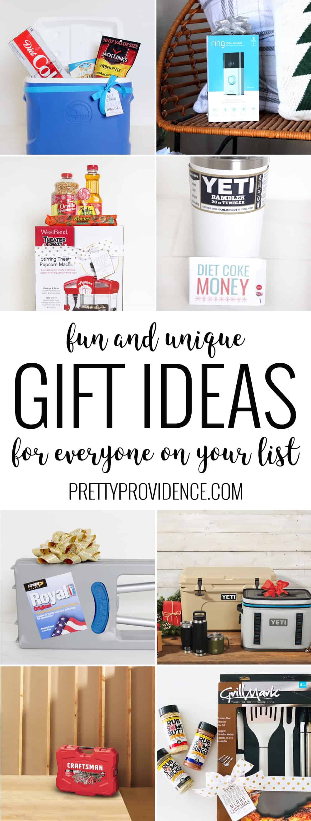 You will love these fun and unique gift ideas for everyone on your list! Perfect for a friend, neighbor, grandparents, your own family or co-workers!