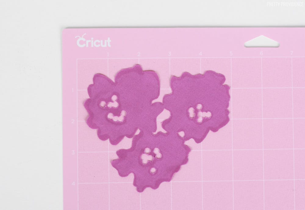Cricut Rotary Blade Fabric Flower
