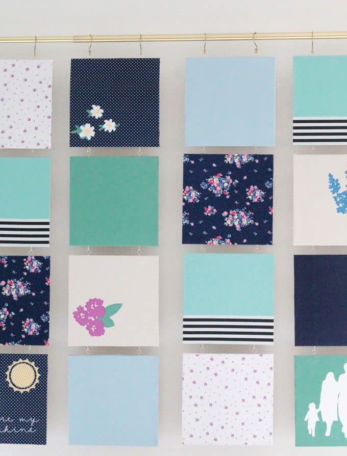 Modern Quilt – Fabric Wall Art
