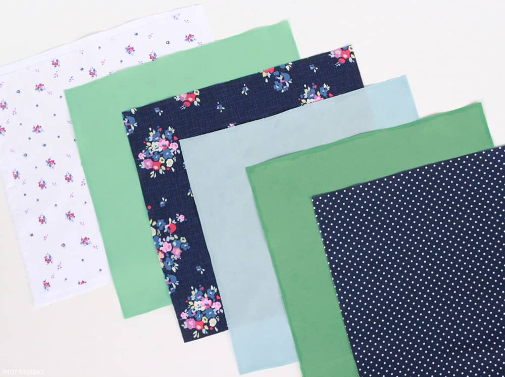No Sew Fabric Wall Quilt