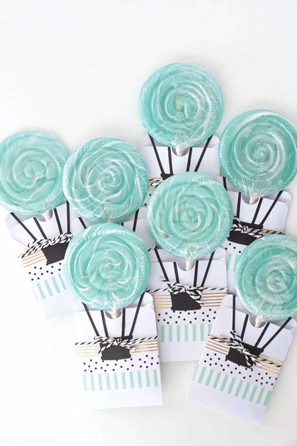 Hot Air Balloon Baby Shower Baby Boy Shower Decorations