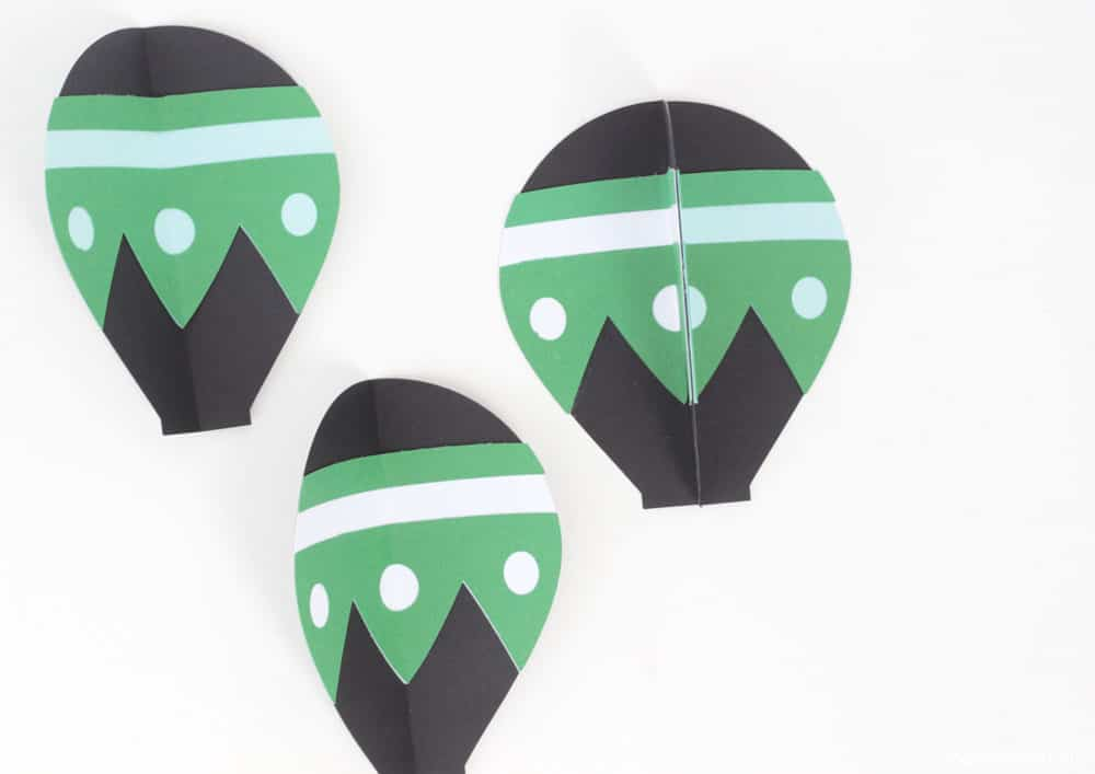 Hot Air Balloon Decorations Paper